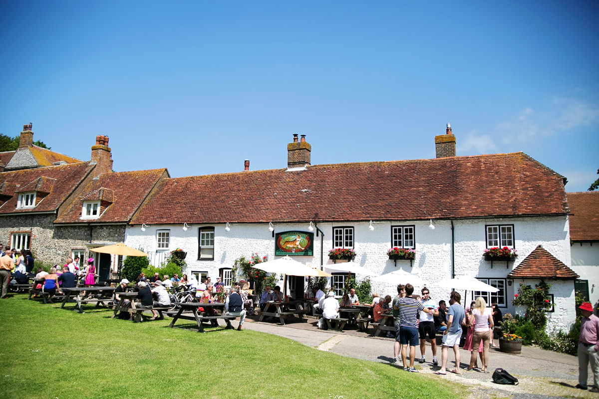 the exterior of the Tiger Inn in East Dean