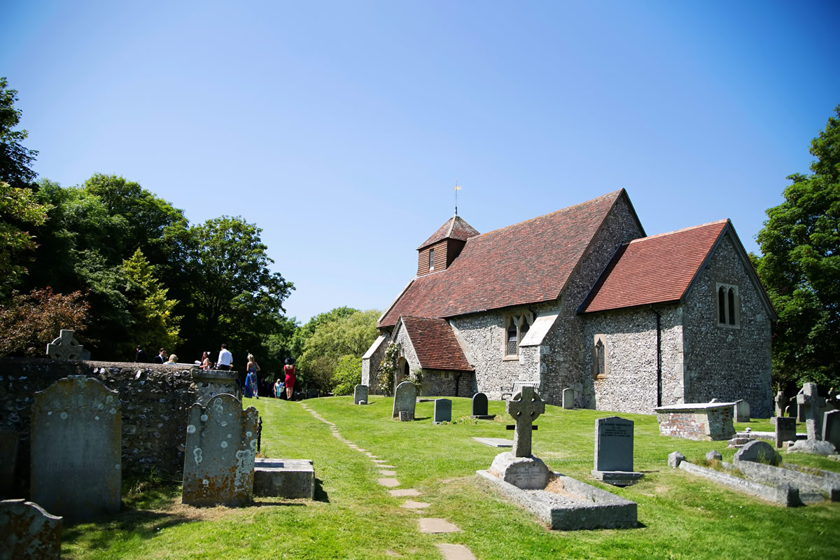 the exterior of St Mary The Virgin, Friston