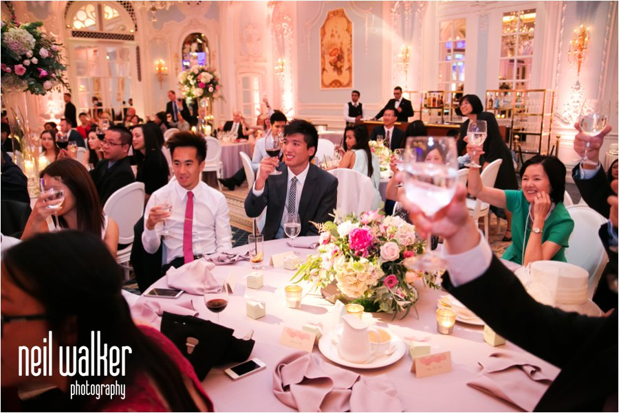A Chinese wedding at the Savoy Hotel in London