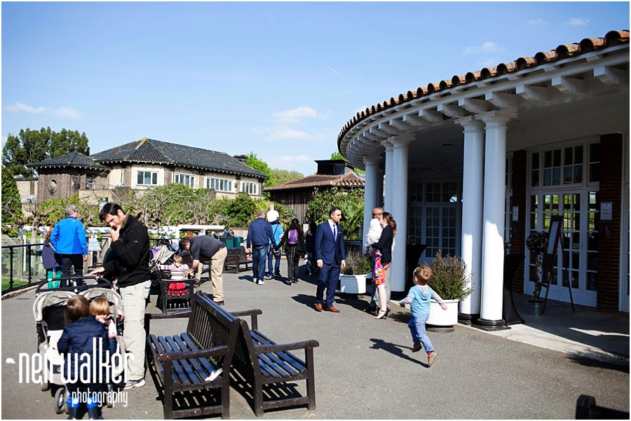 The Pavilion at a London Zoo Wedding