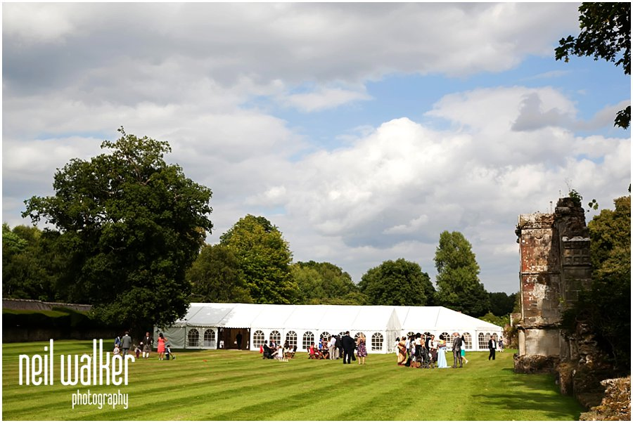 Slaugham Place marquee wedding