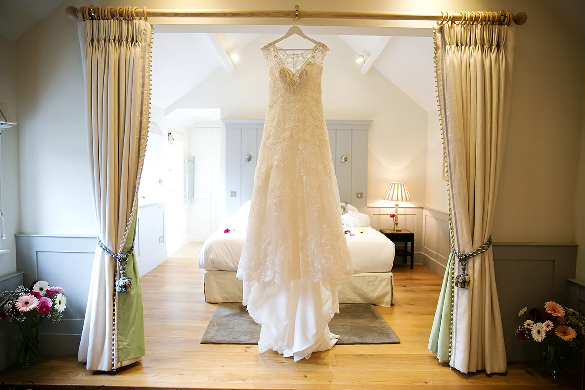 The bridal suite at Farbridge