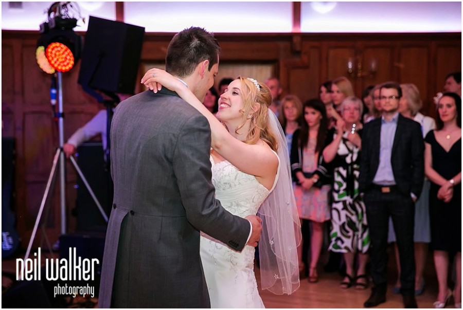 a bride & groom's first dance