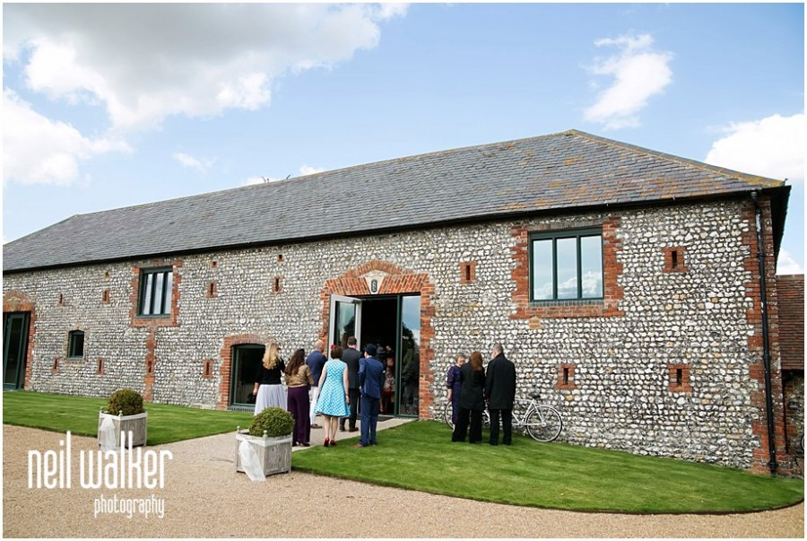 Front view of Farbridge wedding venue