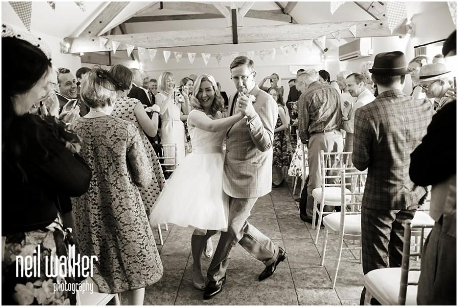 bride & groom dancing in Sussex