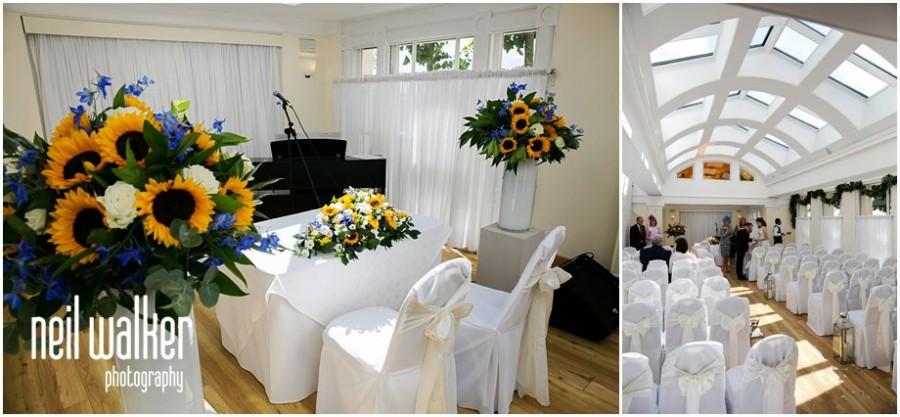 Inside Pembroke Lodge's Belvedere room