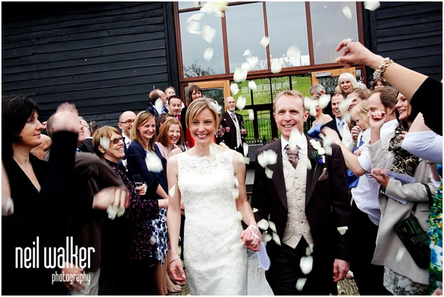 A wedding at Upwaltham Barns in Sussex