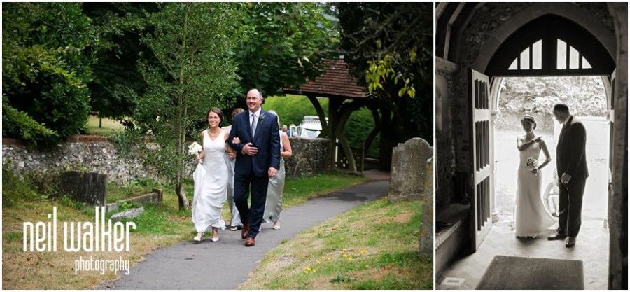 Sussex church wedding