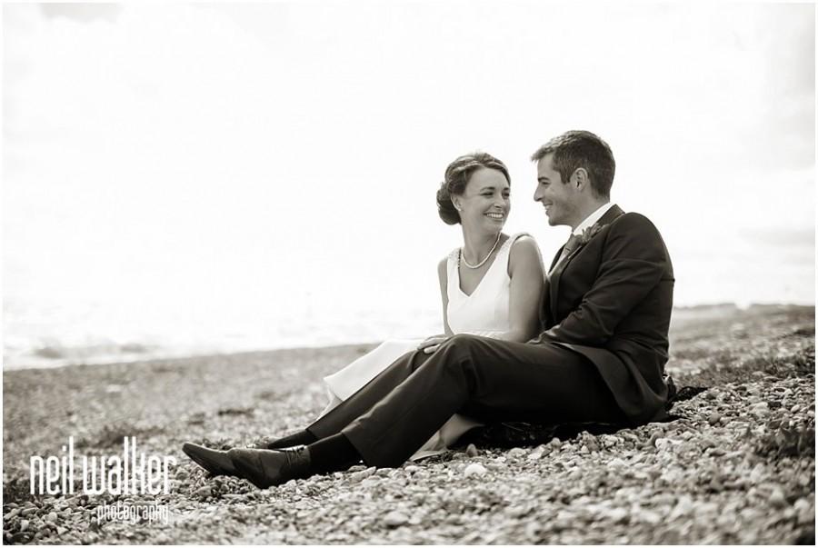 Sussex beach wedding