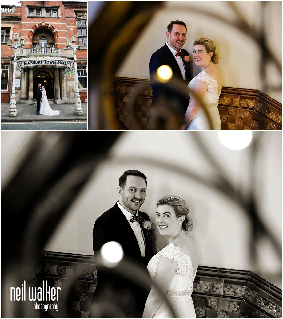 Old Finsbury Town Hall wedding photographer_0112