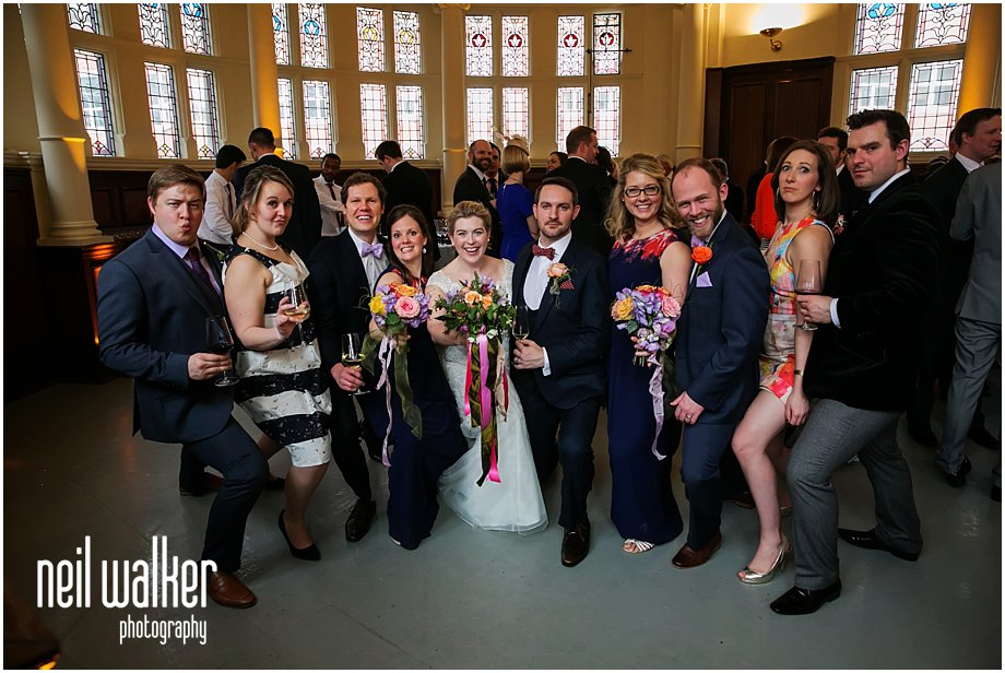 Old Finsbury Town Hall wedding photographer_0125