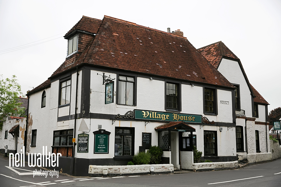 The Village House pub in Findon Manor exterior