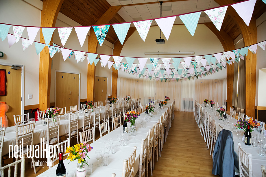 the wedding hall