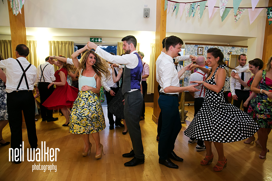 guests doing jive dancing