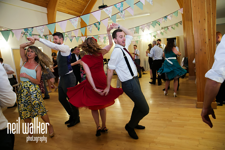 dancing in the village hall