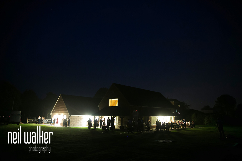 Boxgrove Village Hall at night