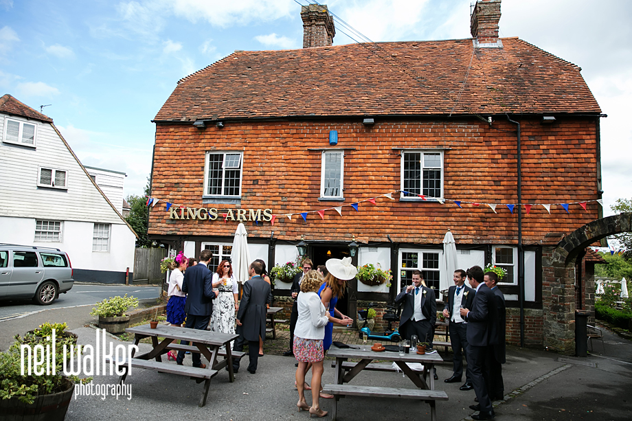 exterior of The Kings Arms in Rotherfield