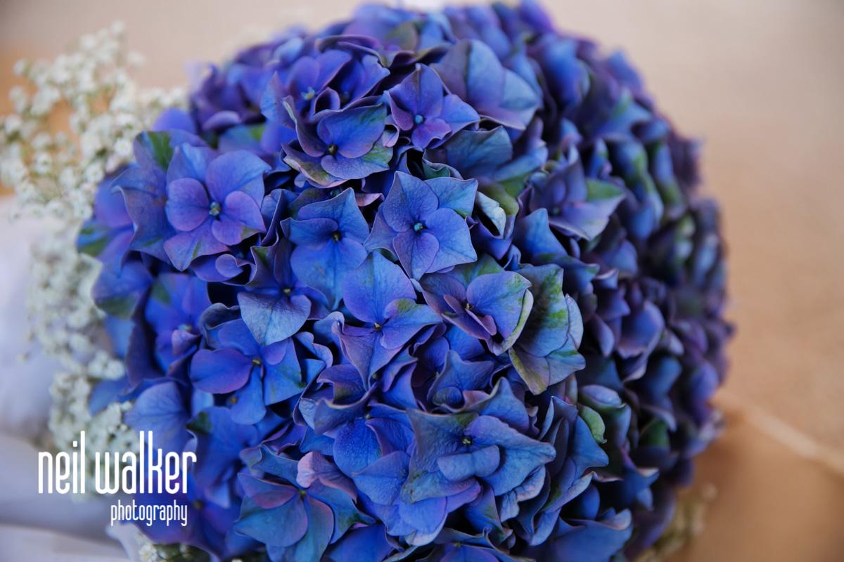the flower girl's bouquet