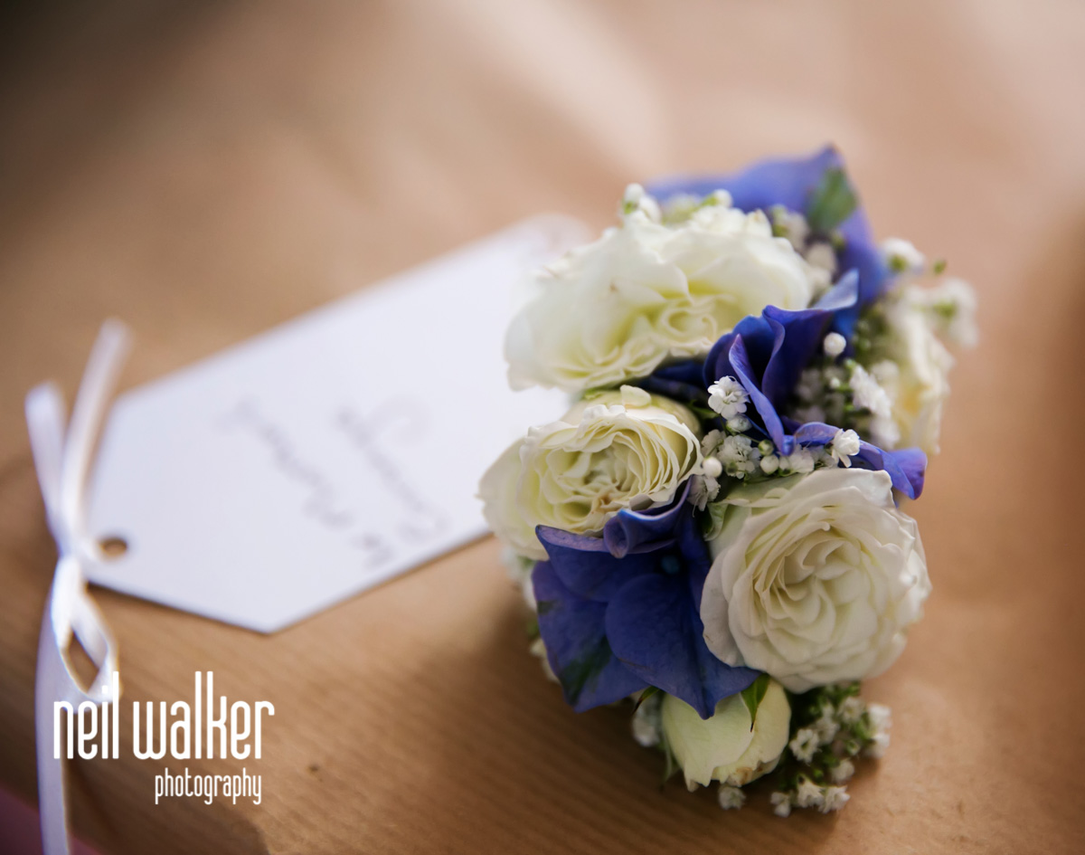 mother of the bride's bouquet