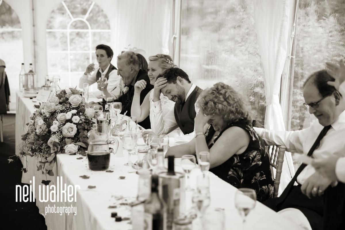 groom laughs at best man