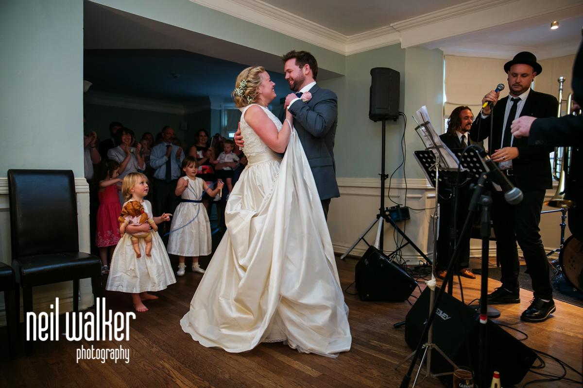 bride & groom's first dance