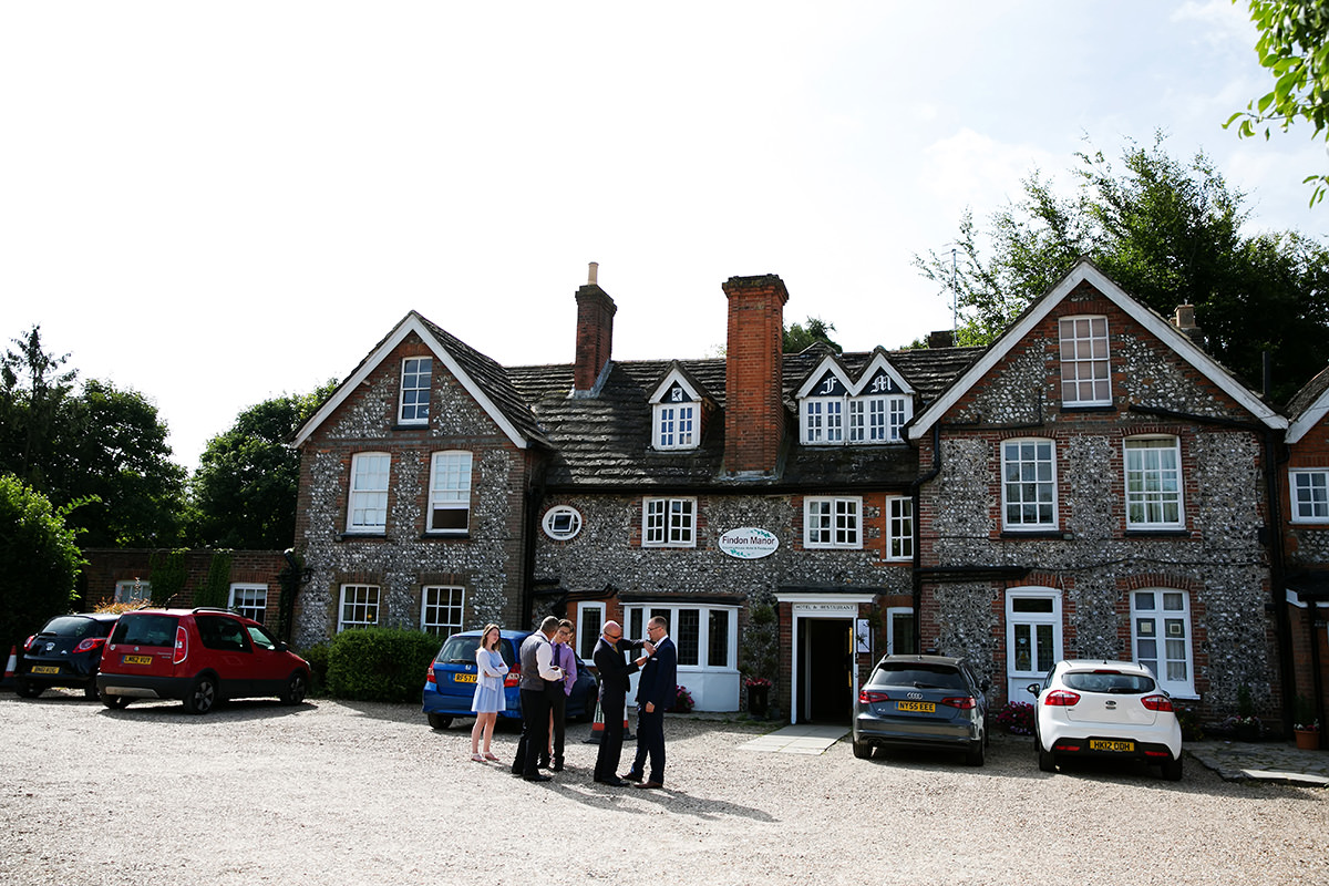Exterior of Findon Manor
