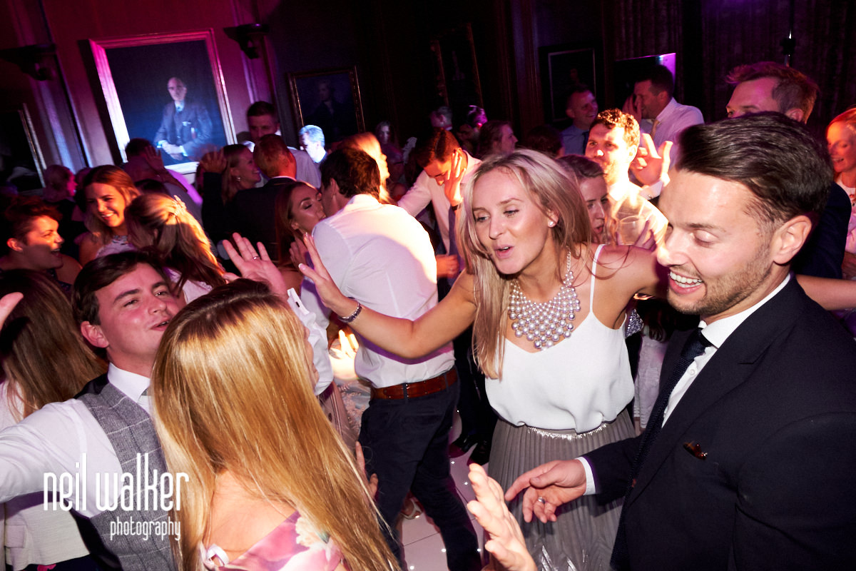 wedding dancing at Cowdray House