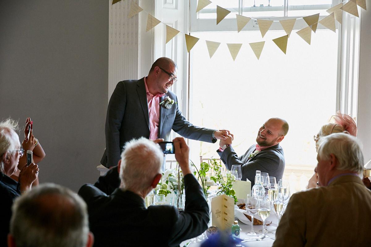 the groom's speech at his wedding