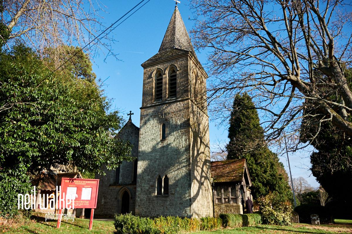 the exterior of St Margaret of Antioch, Church road, Fernhurst, West Sussex, GU27 3HZ