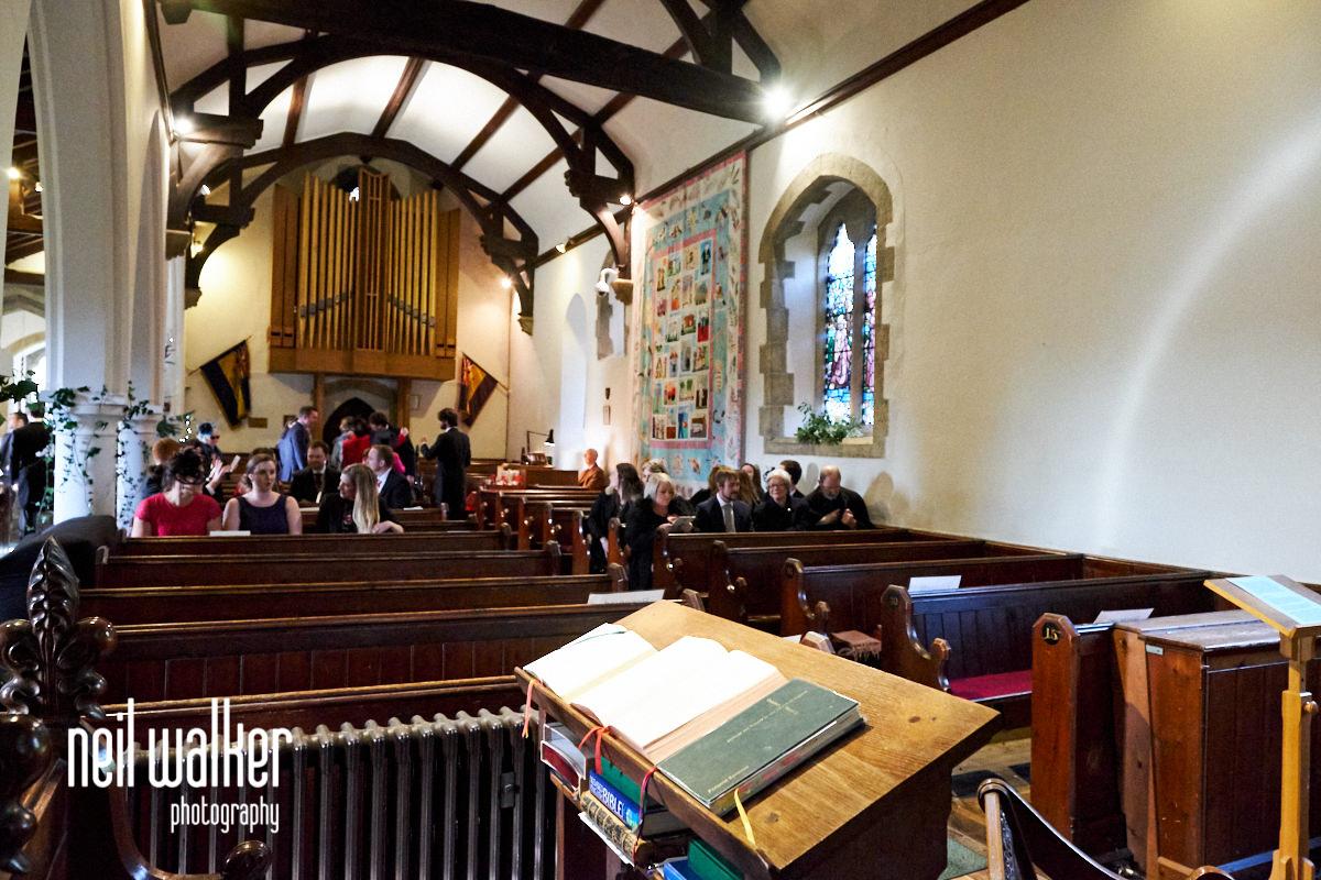 the interior of St Margaret of Antioch, Church road, Fernhurst, West Sussex, GU27 3HZ