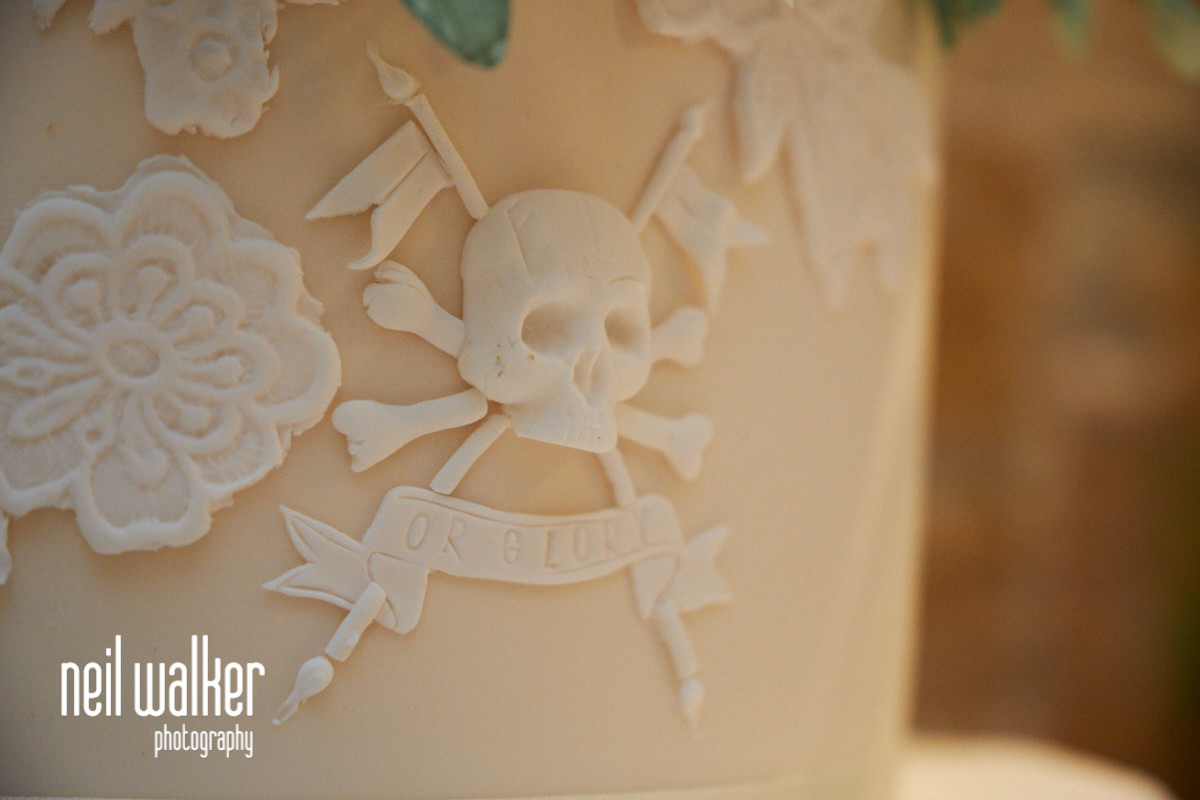 the Lance Guard's emblem on the wedding cake