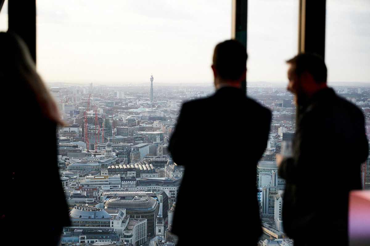 a view of London from 42 Leadenhall
