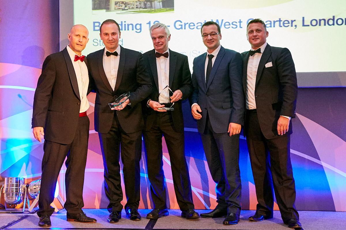 an award ceremony at The Sheraton Grand London Park Lane