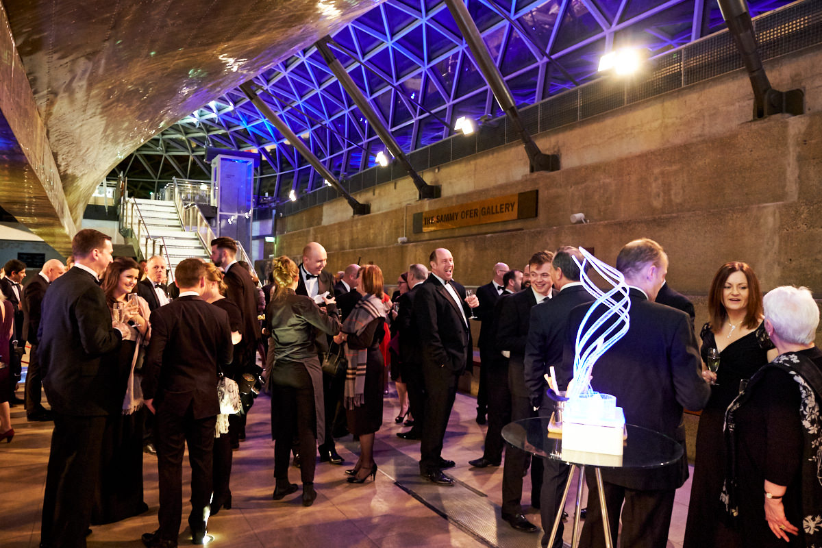 guests at an event at The Cutty Sark