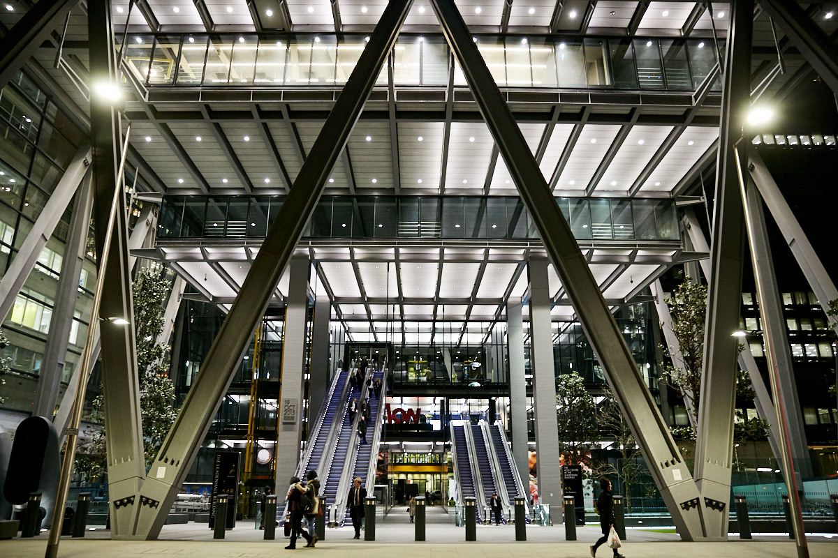 the exterior of 42 Leadenhall in London