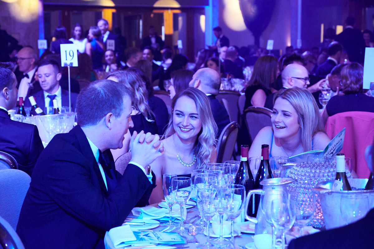 guests at a Law Society event at The Hilton Park Lane