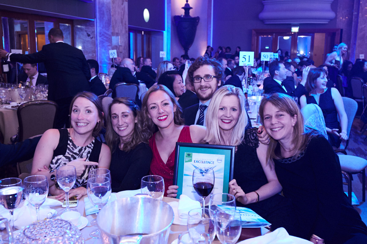 award winners at the Law Society Awards at The Hilton Park Lane in London