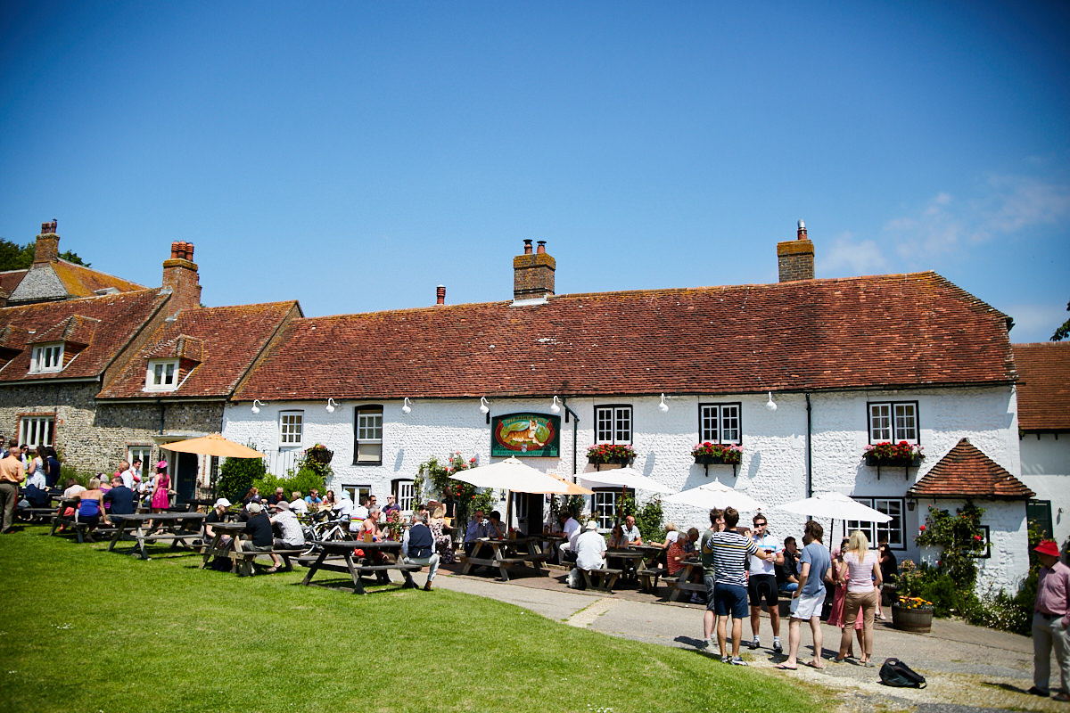 The exterior of the Tiger Inn in Friston, Sussex