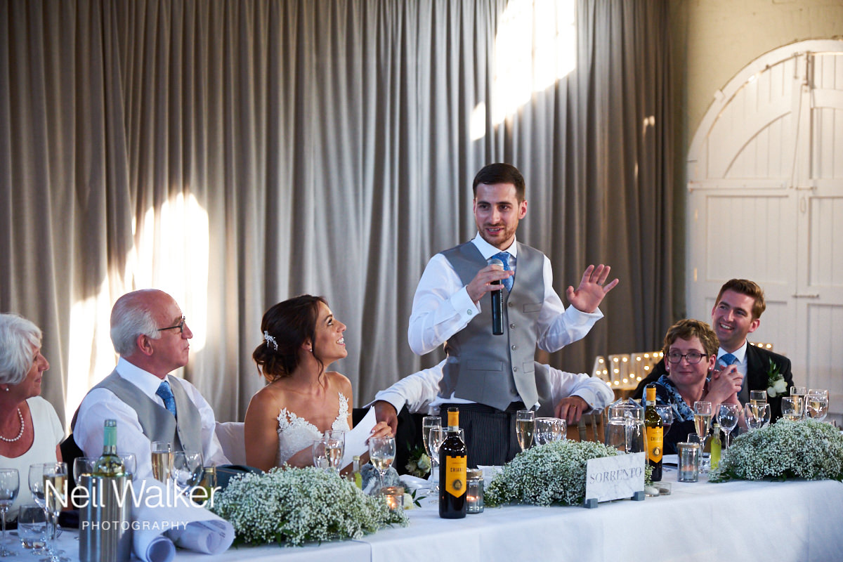 the groom's speech