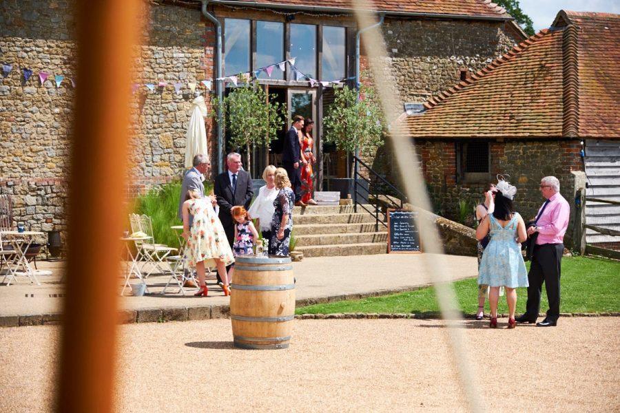 Wedding venue Grittenham Barn in Sussex