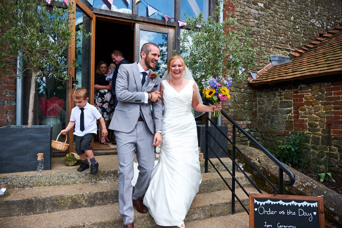 Grittenham Barn wedding photographer